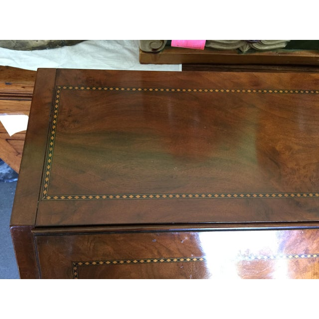 Biltmore Estates Drexel Drop Front Desk For Sale - Image 10 of 13