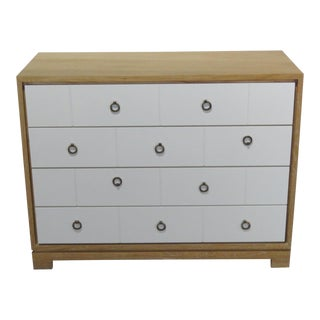 Mid-Century Modern Tommi Parzinger Style Chest For Sale