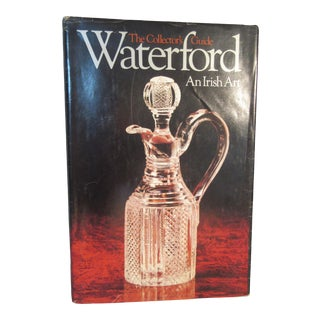 First Edition Hc Book Waterford an Irish Art Collector's Guide Book For Sale