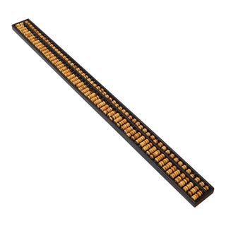 Chinese Rosewood Long Mini Abacus Fengshui Display For Sale