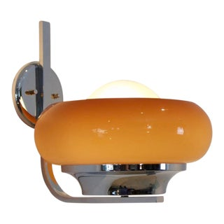 Harvey Guzzini 'Clan' Wall Lamp, Italy 1960s For Sale