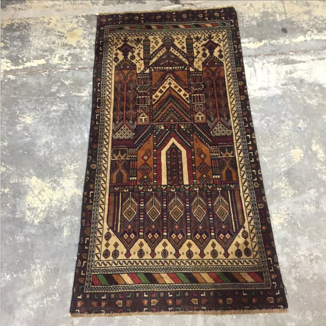 Baluchi Persian Rug - 2′3″ × 4′8″ - Image 2 of 8