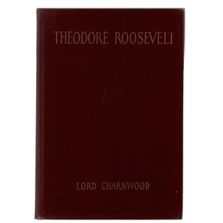 "1923 ""Theodore Roosevelt"" Collectible Book For Sale"
