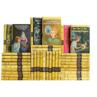 Vintage Nancy Drew Books - Set of 36