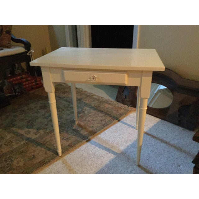 Antique Land of Nod Children's Side Table - Image 2 of 3