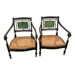 1930s Vintage Italian Dining Chairs - a Pair For Sale