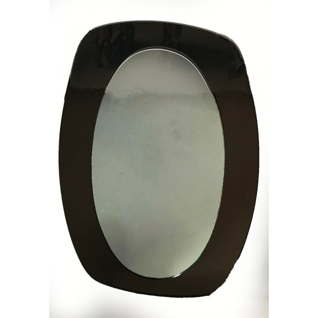 Veca Vintage 1960s Italian Veca Mirror For Sale - Image 4 of 4