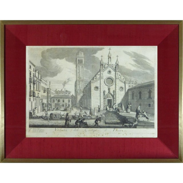 Rare Venice Engravings C. 1720 - Set of 15 - Image 5 of 10
