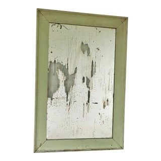 19th Century Mirror With Antiqued Glass For Sale