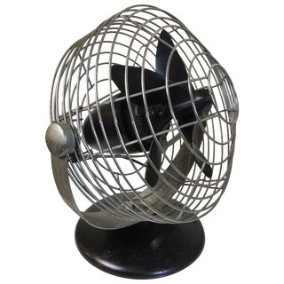 Roto Beam Machine Age Electric Fan Designed by Max Weber For Sale