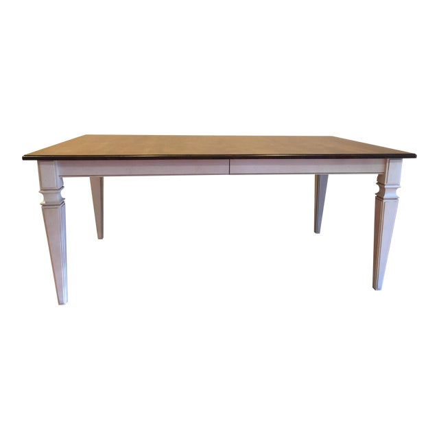 Ethan Allen Avery Style Dining Table For Sale