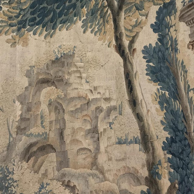 Grand 17th Century Oudenaarde Tapestry For Sale - Image 10 of 13