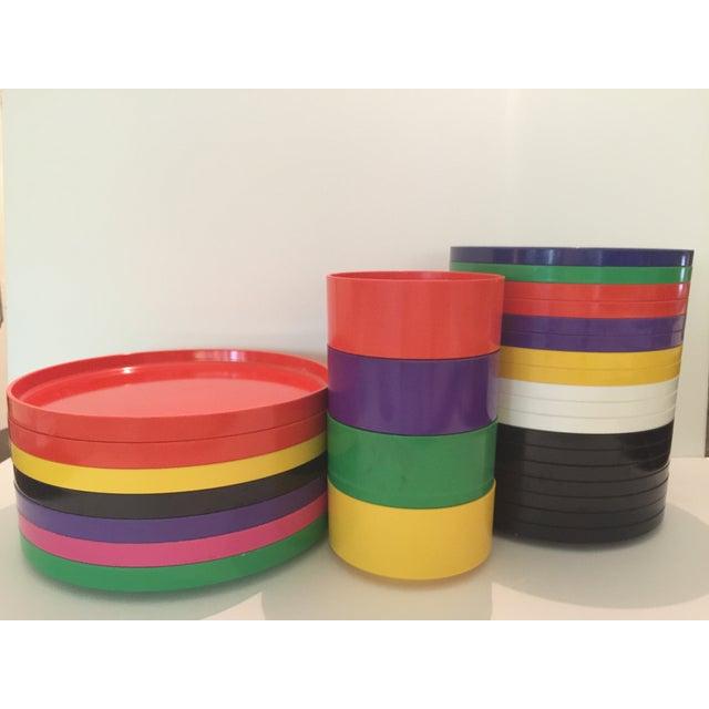 Massimo Vignelli Dining Set - 29 Pieces - Image 2 of 7