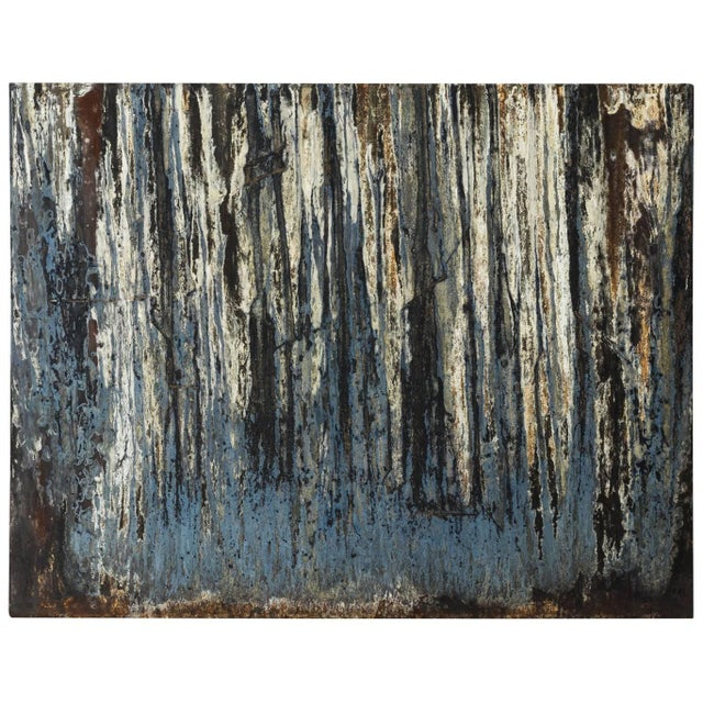 Industrial Steel Art Panel For Sale - Image 11 of 11