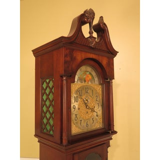 Herschede Mahogany Grandfather Clock Preview