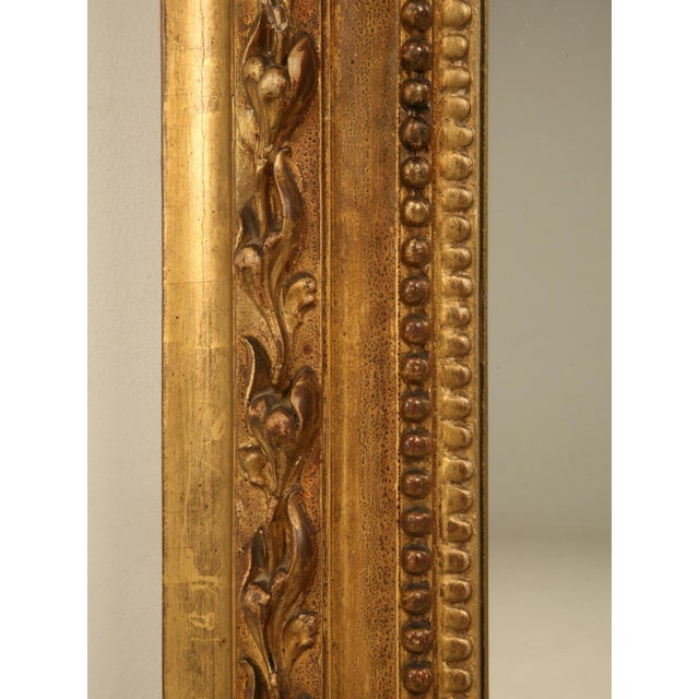 Antique French Gilded Mirror, 1800s For Sale - Image 10 of 11
