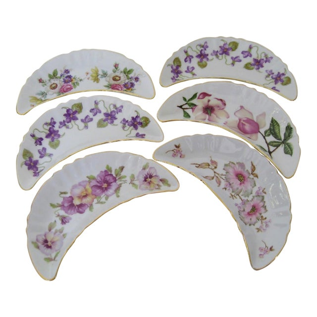 Bavarian Appetizer Dishes - Set of 6 For Sale
