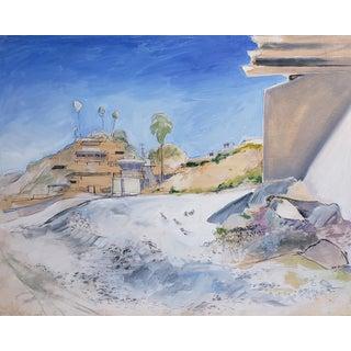 """Neil Brooks """"Sea Shore"""" Landscape Painting For Sale"""