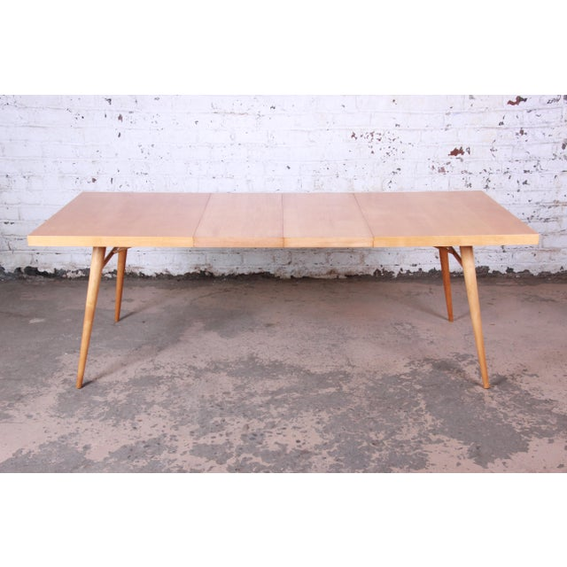 1950s Paul McCobb Planner Group Mid-Century Modern Dining Set For Sale In South Bend - Image 6 of 13