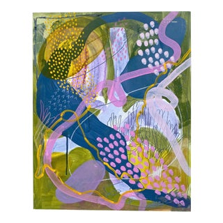 Imagining Super Bloom Two - Contemporary Abstract Painting by Avery Williamson For Sale