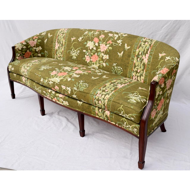 Federal Hickory Chair Federal Hepplewhite Style Sofa For Sale - Image 3 of 13