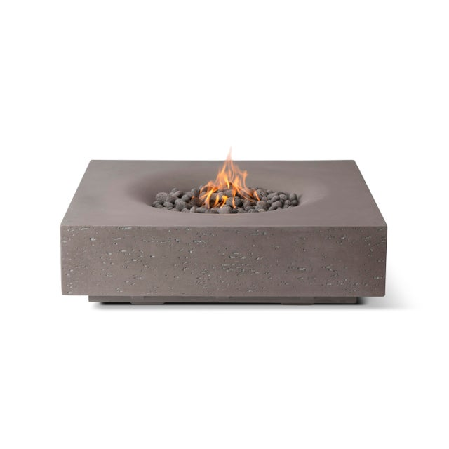 PyroMania Infinity Fire Pit Table - Slate Color, Natural Gas For Sale In Los Angeles - Image 6 of 6