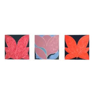 Three Paintings by Allan Bridge For Sale