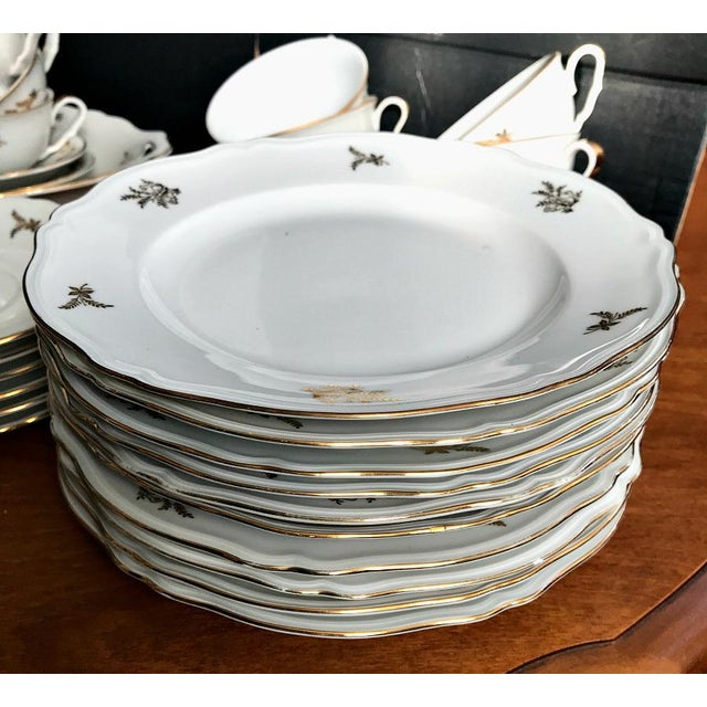 Traditional Epiag Royal Czechoslovakia Luncheon Set - 43 Pieces For Sale - Image 3 of 13