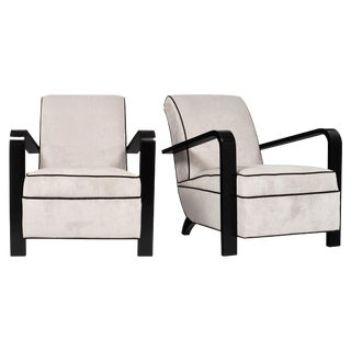 French Art Deco Period Armchairs