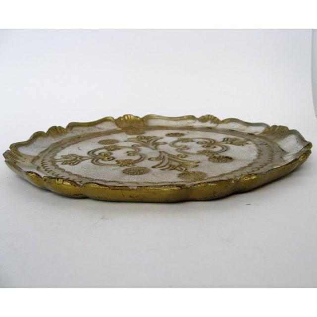 Florentine Wood Tray - Image 5 of 6
