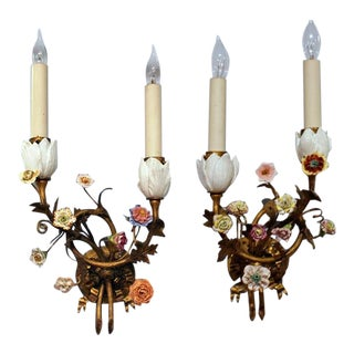 1900s Neoclassical Style Sconces - a Pair For Sale