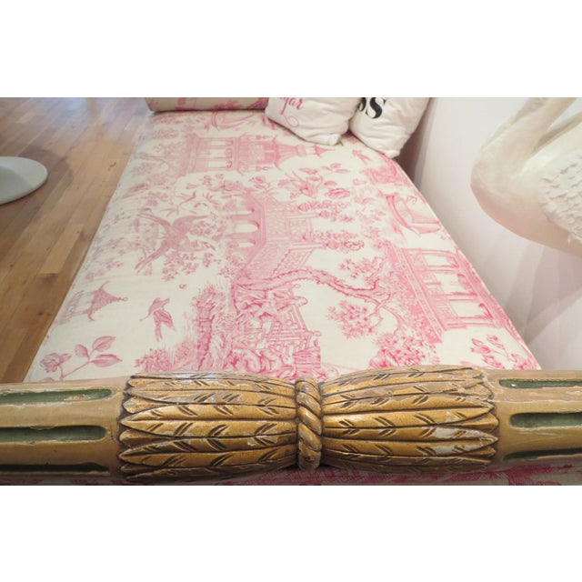 1900s Antique Daybed/Fainting Sofa For Sale - Image 5 of 11