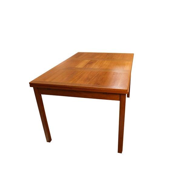 Vejle Stole & Møbelfabrik Danish Modern Teak Extendable Dining Table Vejle Stole Møbelfabrik For Sale - Image 4 of 11