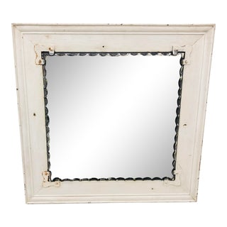 Antique Farm House Mirror For Sale