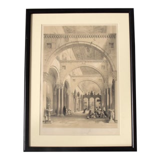 Hollywood Regency Revival Set 3 Italian Architectural Etchings For Sale
