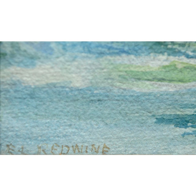 At Water's Edge by Emma Lou Redwine For Sale - Image 4 of 5