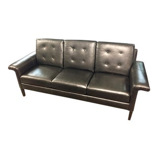 Fairfield Leather Holden Sofa For Sale