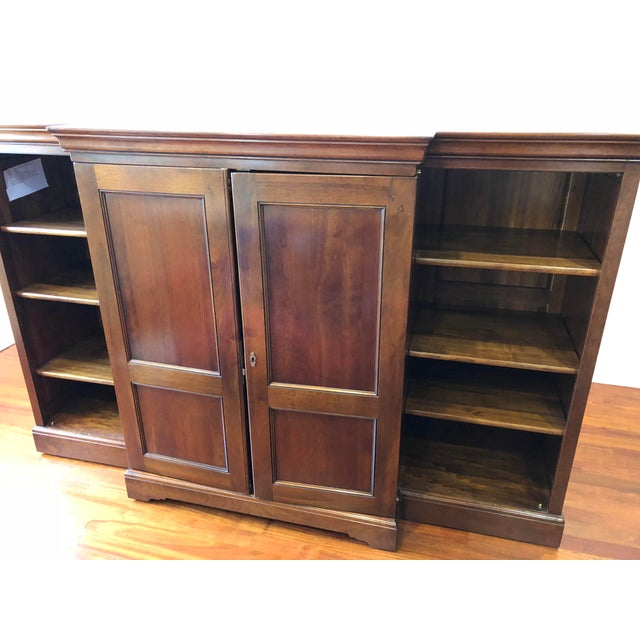 Traditional Grange Louis-Philippe Entertainment Center/Armoire For Sale - Image 3 of 11