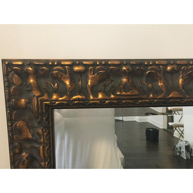 Uttermost Bronze Wall Mirror - Image 4 of 4