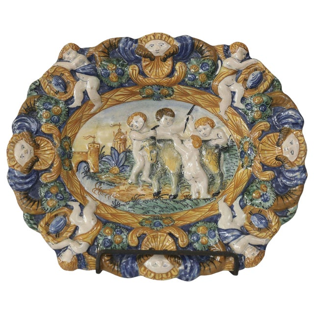 Early Style Decorative Plate For Sale