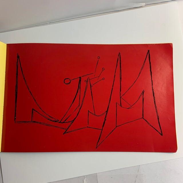 1960 Alexander Calder Perls Galleries Book For Sale - Image 4 of 10