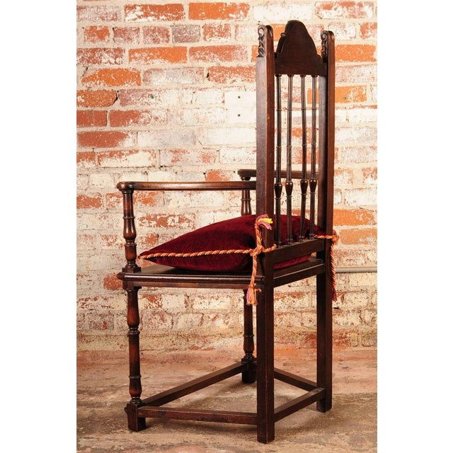 19th Century Reinassance Side Chairs - A Pair - Image 7 of 11