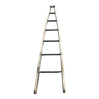 Authentic American Country Apple Ladder For Sale
