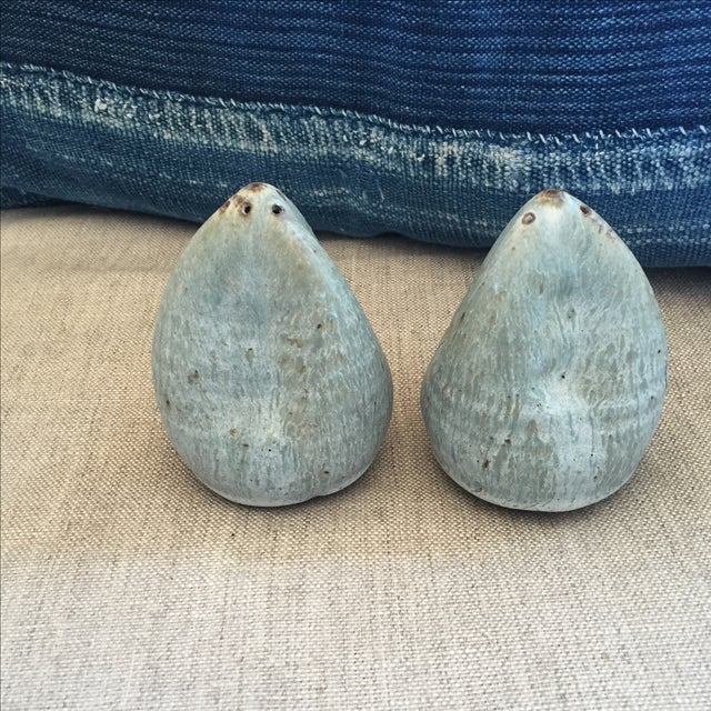 Vintage Studio Pottery Salt & Pepper Shakers - Image 4 of 6