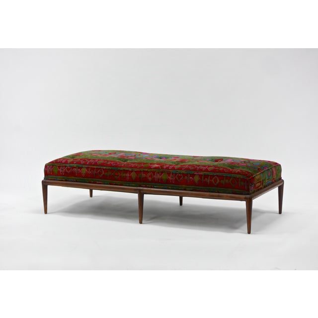 Textile Daybed by t.h. Robsjohn-Gibbings for Widdicomb For Sale - Image 7 of 7