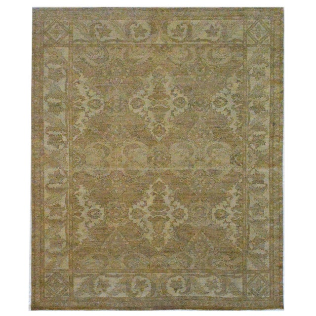 Mansour Quality Handwoven Agra Rug - 8' X 10' For Sale