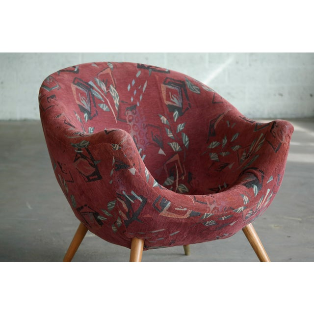 1960's Italian Lounge Chair in the Style of Gio Ponti Ca. For Sale In New York - Image 6 of 13