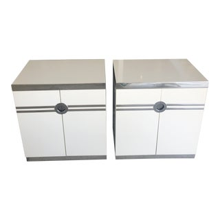 1980s Pierre Cardin Nightstands - a Pair For Sale
