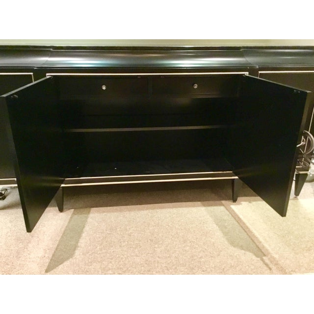 Black Caracole Rive Gauche Sideboard For Sale - Image 8 of 10