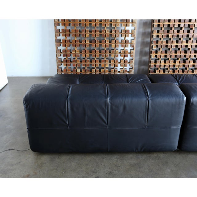 Leather B&b Italia Tufty Time Leather Sofa by Patricia Urquiola For Sale - Image 7 of 10